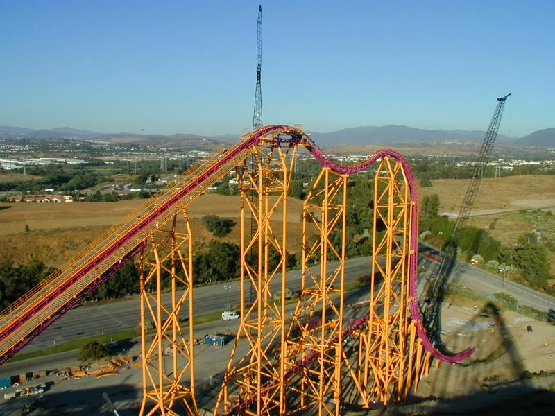 six flags magic mountain. X - Six Flags Magic Mountain